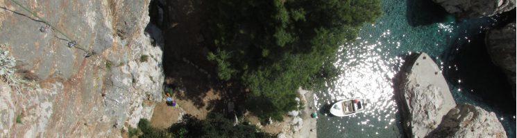 Arrampicata su roccia in Croazia